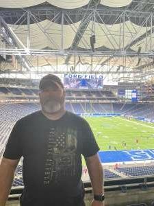 William Fell attended Detroit Lions vs. San Francisco 49ers - NFL on Sep 12th 2021 via VetTix