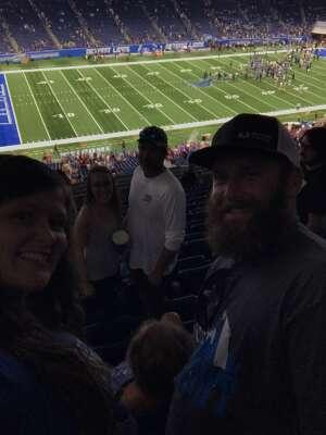 JSedel attended Detroit Lions vs. San Francisco 49ers - NFL on Sep 12th 2021 via VetTix