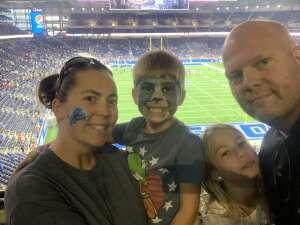 Ben Thomas  attended Detroit Lions vs. San Francisco 49ers - NFL on Sep 12th 2021 via VetTix
