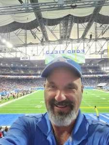 Louie Trivett attended Detroit Lions vs. San Francisco 49ers - NFL on Sep 12th 2021 via VetTix