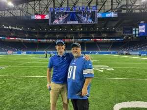 Mark attended Detroit Lions vs. San Francisco 49ers - NFL on Sep 12th 2021 via VetTix