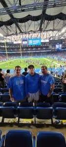 Don Weismiller  attended Detroit Lions vs. San Francisco 49ers - NFL on Sep 12th 2021 via VetTix
