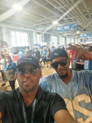 TJH attended Detroit Lions vs. San Francisco 49ers - NFL on Sep 12th 2021 via VetTix