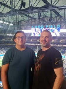Gary attended Detroit Lions vs. San Francisco 49ers - NFL on Sep 12th 2021 via VetTix