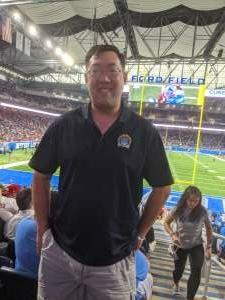 DK attended Detroit Lions vs. San Francisco 49ers - NFL on Sep 12th 2021 via VetTix