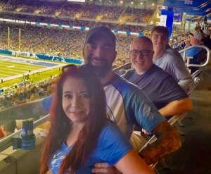 Mark E attended Detroit Lions vs. San Francisco 49ers - NFL on Sep 12th 2021 via VetTix