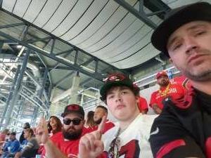 Michael Reath  attended Detroit Lions vs. San Francisco 49ers - NFL on Sep 12th 2021 via VetTix