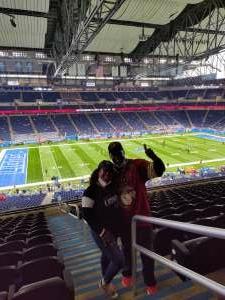 DJ attended Detroit Lions vs. San Francisco 49ers - NFL on Sep 12th 2021 via VetTix