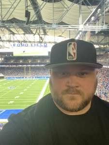 bk attended Detroit Lions vs. San Francisco 49ers - NFL on Sep 12th 2021 via VetTix