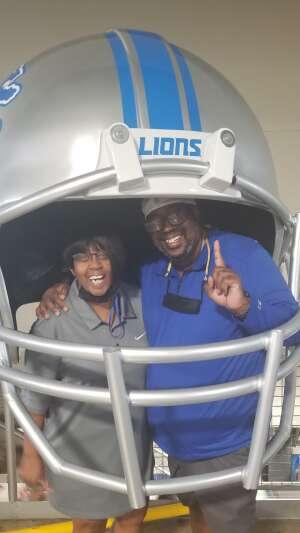Paul  attended Detroit Lions vs. San Francisco 49ers - NFL on Sep 12th 2021 via VetTix