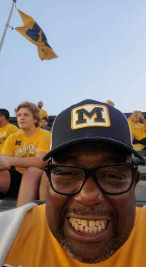 Amanda Griffin attended Michigan Wolverines vs. Washington Huskies - NCAA Football on Sep 11th 2021 via VetTix