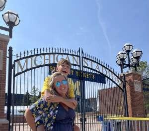 Kevin O attended Michigan Wolverines vs. Washington Huskies - NCAA Football on Sep 11th 2021 via VetTix
