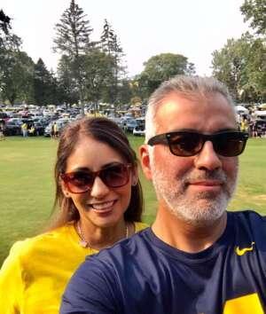 Shanna attended Michigan Wolverines vs. Washington Huskies - NCAA Football on Sep 11th 2021 via VetTix