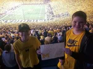 Click To Read More Feedback from Michigan Wolverines vs. Washington Huskies - NCAA Football