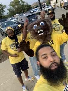 Jamar attended Michigan Wolverines vs. Washington Huskies - NCAA Football on Sep 11th 2021 via VetTix