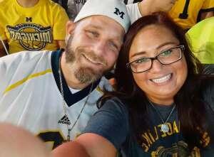 Thank you so much... attended Michigan Wolverines vs. Washington Huskies - NCAA Football on Sep 11th 2021 via VetTix