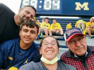 Sgt Joanie attended Michigan Wolverines vs. Washington Huskies - NCAA Football on Sep 11th 2021 via VetTix
