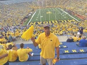 T. Walker attended Michigan Wolverines vs. Washington Huskies - NCAA Football on Sep 11th 2021 via VetTix