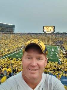Bill attended Michigan Wolverines vs. Washington Huskies - NCAA Football on Sep 11th 2021 via VetTix