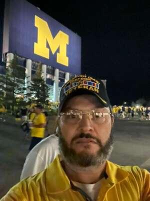 Stephen Eldred attended Michigan Wolverines vs. Washington Huskies - NCAA Football on Sep 11th 2021 via VetTix
