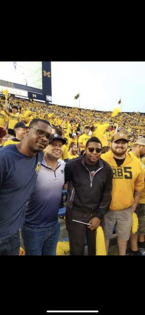 University of Michigan TRUE FANS!!! attended Michigan Wolverines vs. Washington Huskies - NCAA Football on Sep 11th 2021 via VetTix