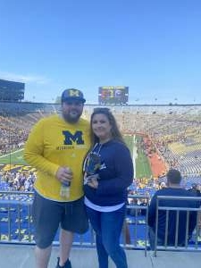 Kelley attended Michigan Wolverines vs. Washington Huskies - NCAA Football on Sep 11th 2021 via VetTix