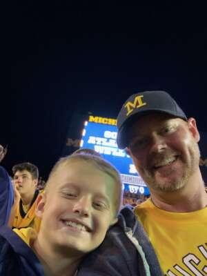 Deb G attended Michigan Wolverines vs. Washington Huskies - NCAA Football on Sep 11th 2021 via VetTix