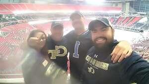 John attended Georgia Tech Yellow Jackets vs. University of North Carolina Tar Heels - NCAA Football on Sep 25th 2021 via VetTix