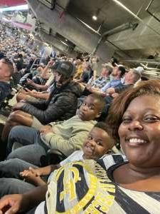 Simone Gully attended Georgia Tech Yellow Jackets vs. University of North Carolina Tar Heels - NCAA Football on Sep 25th 2021 via VetTix