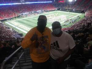 Fredrick Lee attended Georgia Tech Yellow Jackets vs. University of North Carolina Tar Heels - NCAA Football on Sep 25th 2021 via VetTix