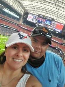 Adrian attended Houston Texans vs. Jacksonville Jaguars - NFL on Sep 12th 2021 via VetTix
