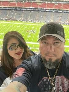 Ssg Corona attended Houston Texans vs. Jacksonville Jaguars - NFL on Sep 12th 2021 via VetTix