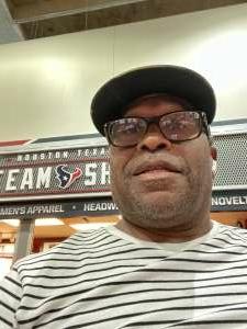 Augbon attended Houston Texans vs. Jacksonville Jaguars - NFL on Sep 12th 2021 via VetTix