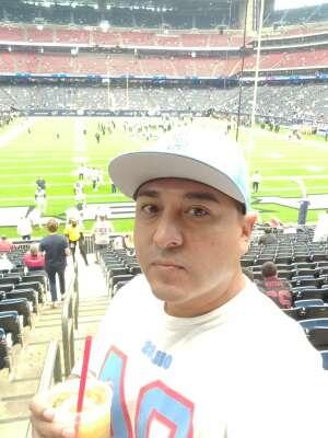 Joe attended Houston Texans vs. Jacksonville Jaguars - NFL on Sep 12th 2021 via VetTix