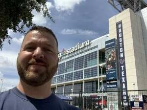 Kyle attended Houston Texans vs. Jacksonville Jaguars - NFL on Sep 12th 2021 via VetTix