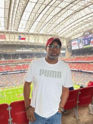 G.j. attended Houston Texans vs. Jacksonville Jaguars - NFL on Sep 12th 2021 via VetTix