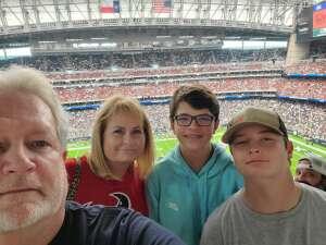 Gary attended Houston Texans vs. Jacksonville Jaguars - NFL on Sep 12th 2021 via VetTix