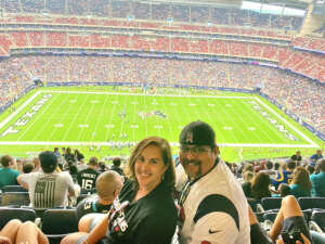 MV attended Houston Texans vs. Jacksonville Jaguars - NFL on Sep 12th 2021 via VetTix