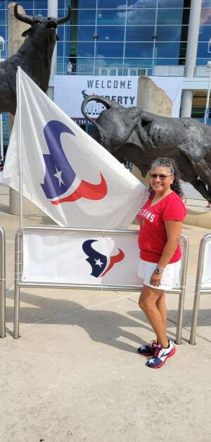 Maria attended Houston Texans vs. Jacksonville Jaguars - NFL on Sep 12th 2021 via VetTix