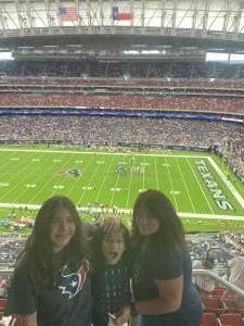 Luis attended Houston Texans vs. Jacksonville Jaguars - NFL on Sep 12th 2021 via VetTix