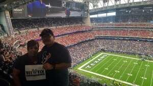 Smitherman family attended Houston Texans vs. Jacksonville Jaguars - NFL on Sep 12th 2021 via VetTix