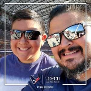 Richard Rios attended Houston Texans vs. Jacksonville Jaguars - NFL on Sep 12th 2021 via VetTix