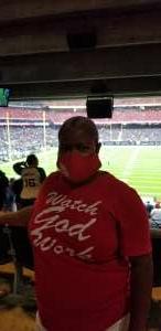 Toni attended Houston Texans vs. Jacksonville Jaguars - NFL on Sep 12th 2021 via VetTix