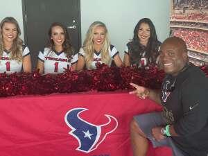 Bruce McClary-Davis attended Houston Texans vs. Jacksonville Jaguars - NFL on Sep 12th 2021 via VetTix
