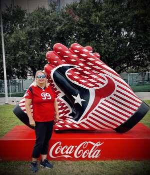 Christie King attended Houston Texans vs. Jacksonville Jaguars - NFL on Sep 12th 2021 via VetTix
