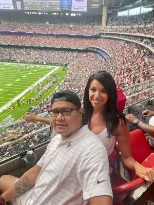 Roland  attended Houston Texans vs. Jacksonville Jaguars - NFL on Sep 12th 2021 via VetTix