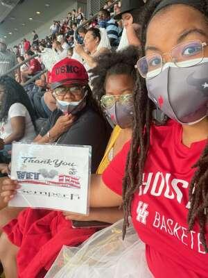 Cookey attended Houston Texans vs. Jacksonville Jaguars - NFL on Sep 12th 2021 via VetTix