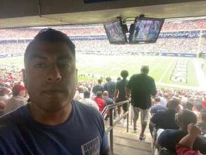 Conrad attended Houston Texans vs. Jacksonville Jaguars - NFL on Sep 12th 2021 via VetTix