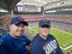 J. Conn attended Houston Texans vs. Jacksonville Jaguars - NFL on Sep 12th 2021 via VetTix