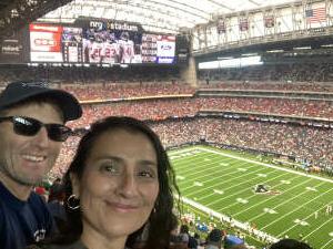 Richard  attended Houston Texans vs. Jacksonville Jaguars - NFL on Sep 12th 2021 via VetTix